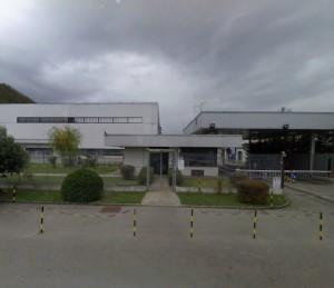 L'ingresso della Ferrero a Balvano