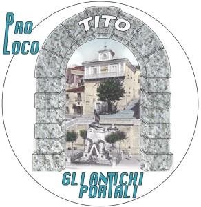 """Logo della Pro-Loco """"Gli Antichi Portali"""" di Tito"""