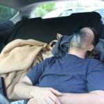 A Brienza, Cataldo dorme in auto