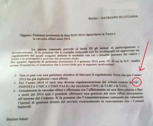 """Nella foto di Tonino Iallorenzi, la """"sconosciuta"""" IUC"""