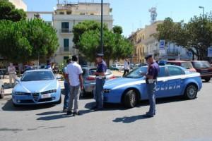 Polizia a Potenza: 151 persone identificate, 70 veicoli e 2 denunce