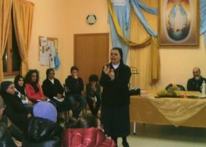 Suor Antonella Solidoro superiora dell'istituto Mater Dei di Napoli