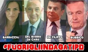La foto postata ieri da Beppe Grillo