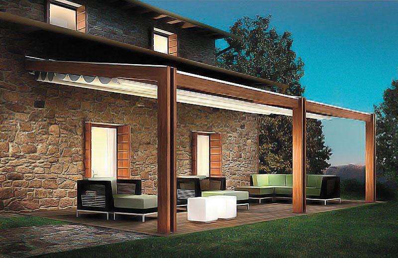 Pergolati e coperture amovibili per il consiglio di stato for Il costo di costruire la propria casa