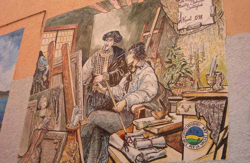 Risultati immagini per murales Satriano di Lucania