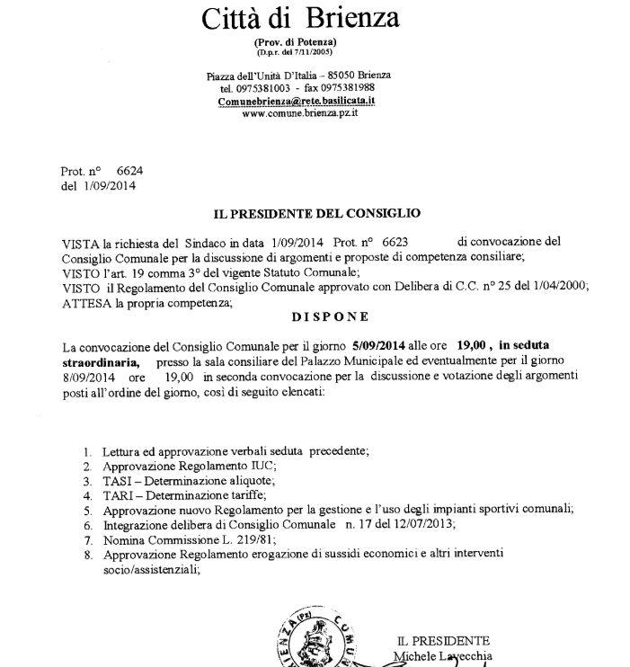CC BRIENZA 5 SETTEMBRE