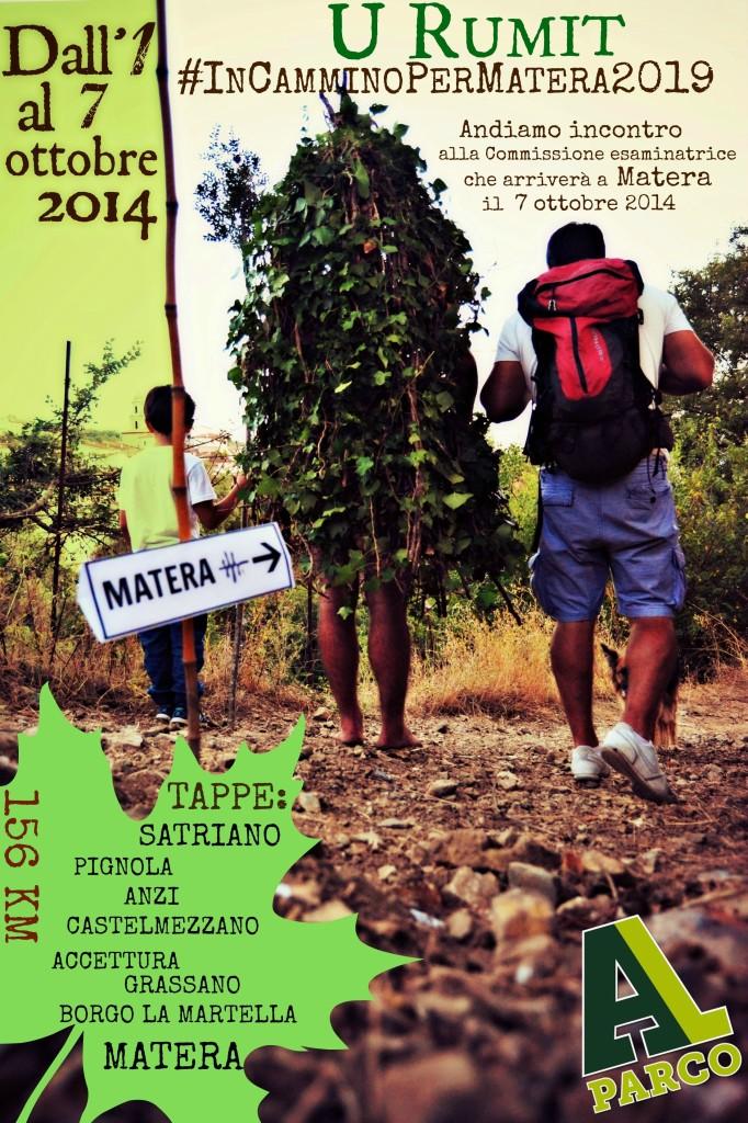 U Rumit in cammino per Matera2019