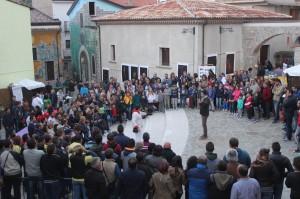 27 settembre - Una foto della tappa di Satriano di Lucania