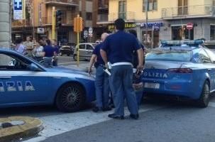 Agenti della Squadra Volanti di Salerno