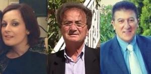 I consiglieri comunali Caggianese, Langone e Salvatore