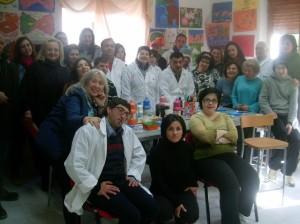 """I volontari de """"La Bottega del Fare"""" di Sirio"""