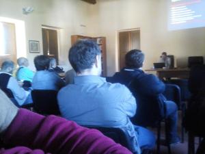Un momento della presentazione del SUED