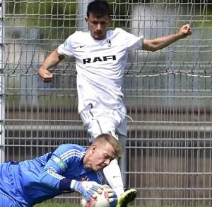 Alessandro Fiore-Tapia durante un match