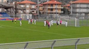 Un momento del match (foto Gerardo Curcio)