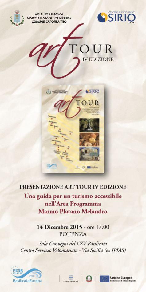 ART TOUR - LOCANDINA