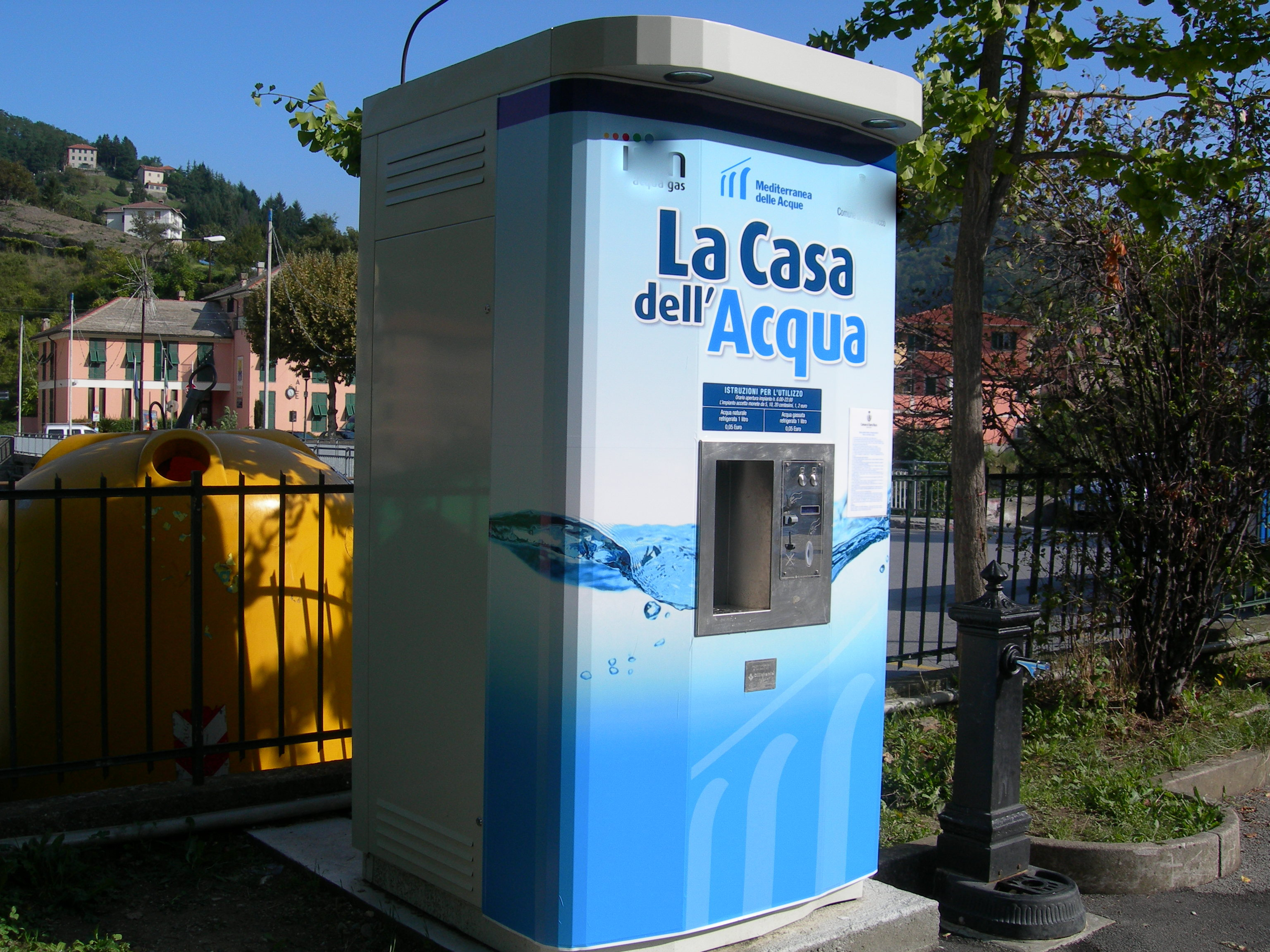 La casa dell 39 acqua a breve sar installata a vietri di - Centralina acqua per casa ...