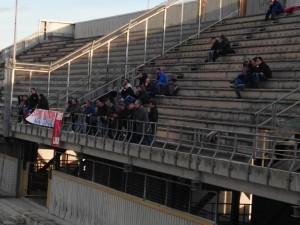 Alcuni tifosi del Picerno giunti a Taranto