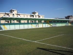 """Il terreno di gioco del """"Vallefuoco"""" di Mugnano"""