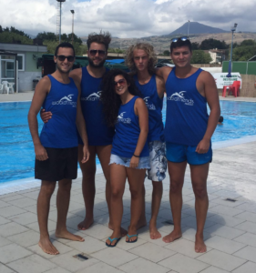 I giovani dell'Old Friends Nuoto