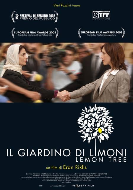 "Locandina del Film - ""Il Giardino di Limoni - Lemon Tree"""