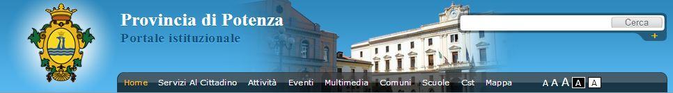 Maggiori info su http://www.provincia.potenza.it
