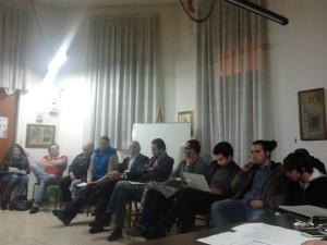 Un incontro del Progetto di Comunità