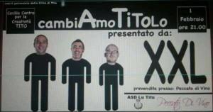 """Esordio degli """"XXL"""" l'1 febbraio al Cecilia di Tito"""