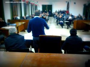 Una foto del Consiglio Comunale aperto