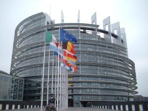 La sede del Parlamento Europeo di Strasburgo
