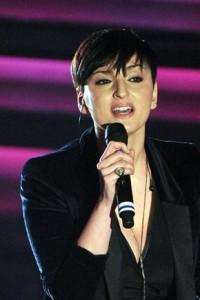 Arisa a Sanremo nel 2012