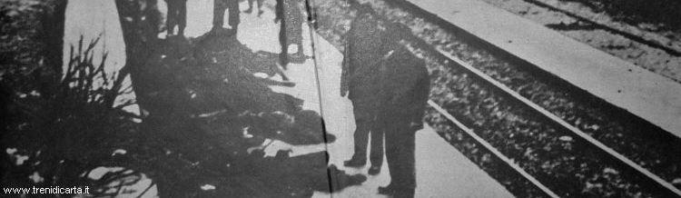 La più grande tragedia ferroviaria d'Europa - Cadaveri affianco ai binari a Balvano