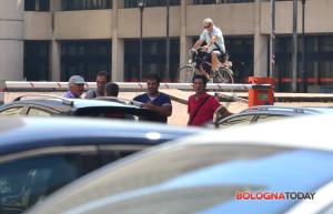 I posteggiatori abusivi beccati ieri a Bologna