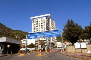 L'Ospedale Ruggi di Salerno