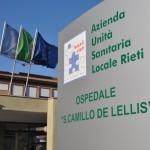 Ingresso dell'Ospedale di Rieti