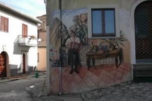 Murale a Sant'Angelo Le Fratte