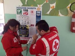 Installazione defibrillatore all'I.C. di Vietri