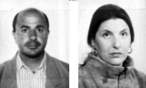 Giuseppe Gianfredi e Patrizia Santarsiero, 39 e 35 anni, uccisi a Potenza il 24 aprile 1997