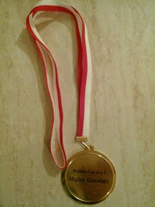A Samuele Panariello il premio miglior giocatore calcio a5 in Toscana