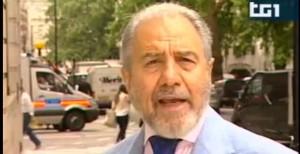 Antonio Caprarica, inviato Rai a Londra