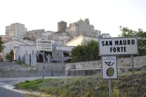 Veduta di San Mauro Forte (MT)