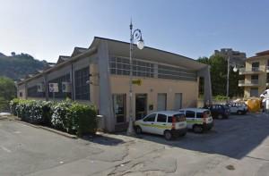 L'ufficio postale di Balvano, in via Città Giardino