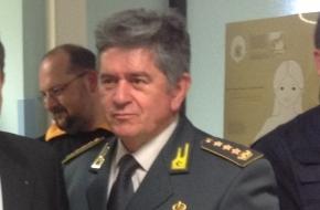 Il colonnello della GdF, Mario Zarrillo