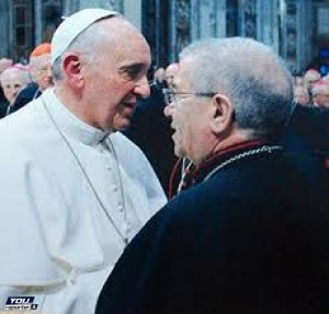 Papa Francesco e Mons. Agostino Superbo
