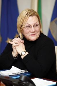 L'assessore Flavia Franconi