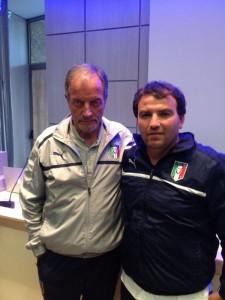 Innocenzo Natiello con Renzo Ulivieri