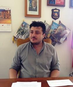 Il sindaco di Satriano, Vincenzo Pascale