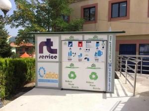 Eco-compattatore installato a Sant'Angelo Le Fratte