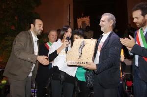 Consegna riconoscimento al GAL da parte della società Iridia