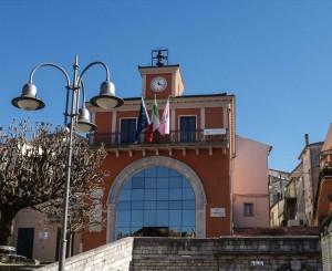 La sede del Comune di Tito