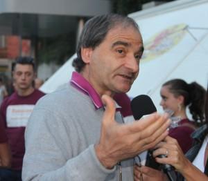Carmine Grande, sindaco di Vietri di Potenza (Foto C. Buono)